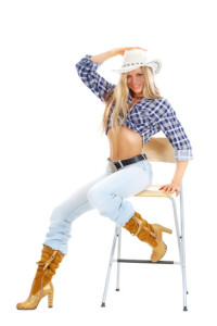 Cowgirl Strip Kostüm